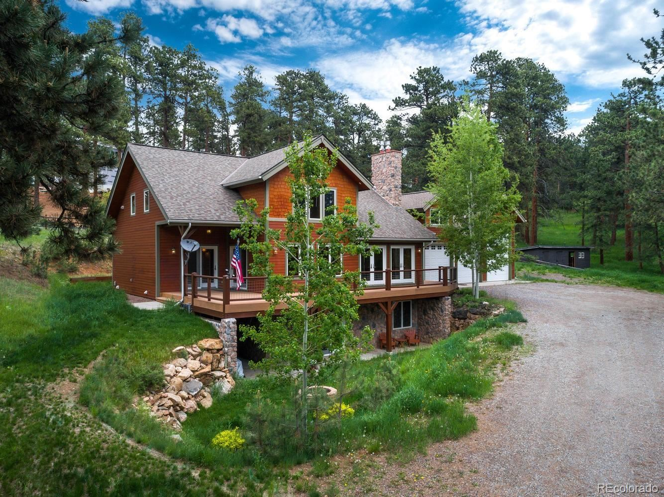 23111  Shoshone Road, Indian Hills, CO 80454 - #: 5993461