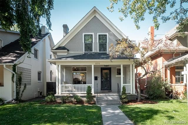 551 North Humboldt Street, Denver, CO 80218 - #: 3405472