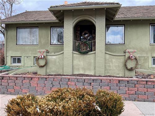 Photo of 5301 E 23rd Avenue, Denver, CO 80207 (MLS # 4888475)