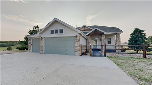 Photo of 1658 Glade Gulch Road, Castle Rock, CO 80104 (MLS # 8846477)