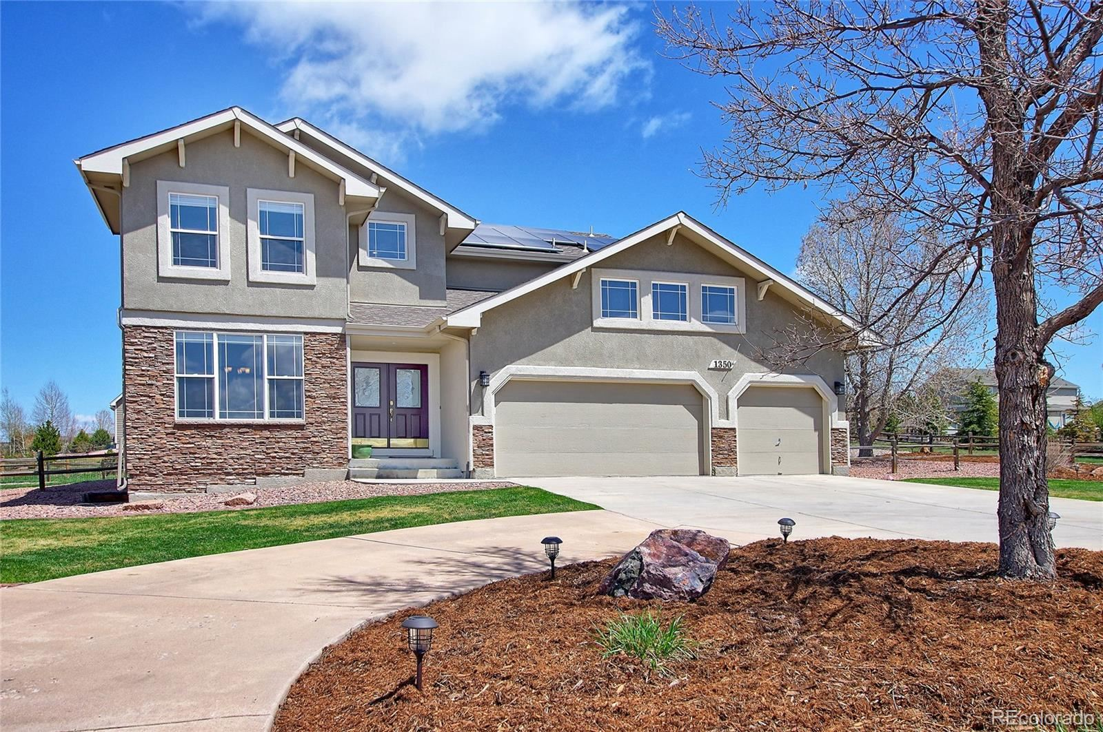 1350  Bowstring Road, Monument, CO 80132 - #: 6958480