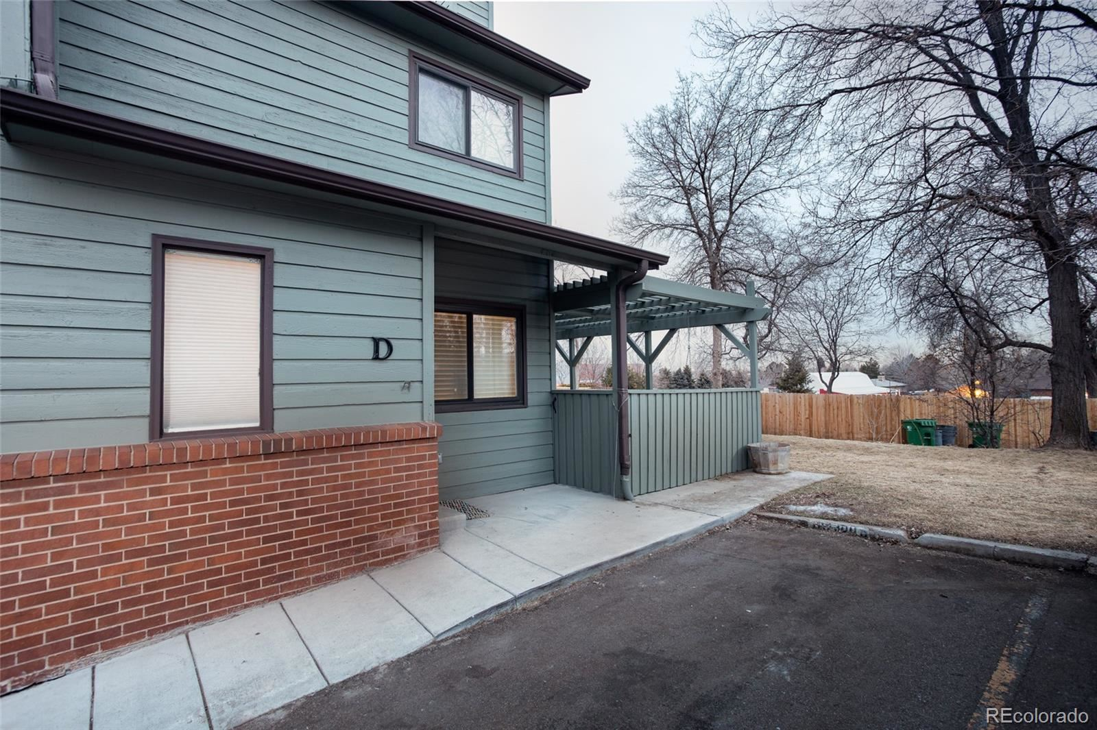 10230 W Jewell Avenue  D #D, Lakewood, CO 80232 - #: 6712487