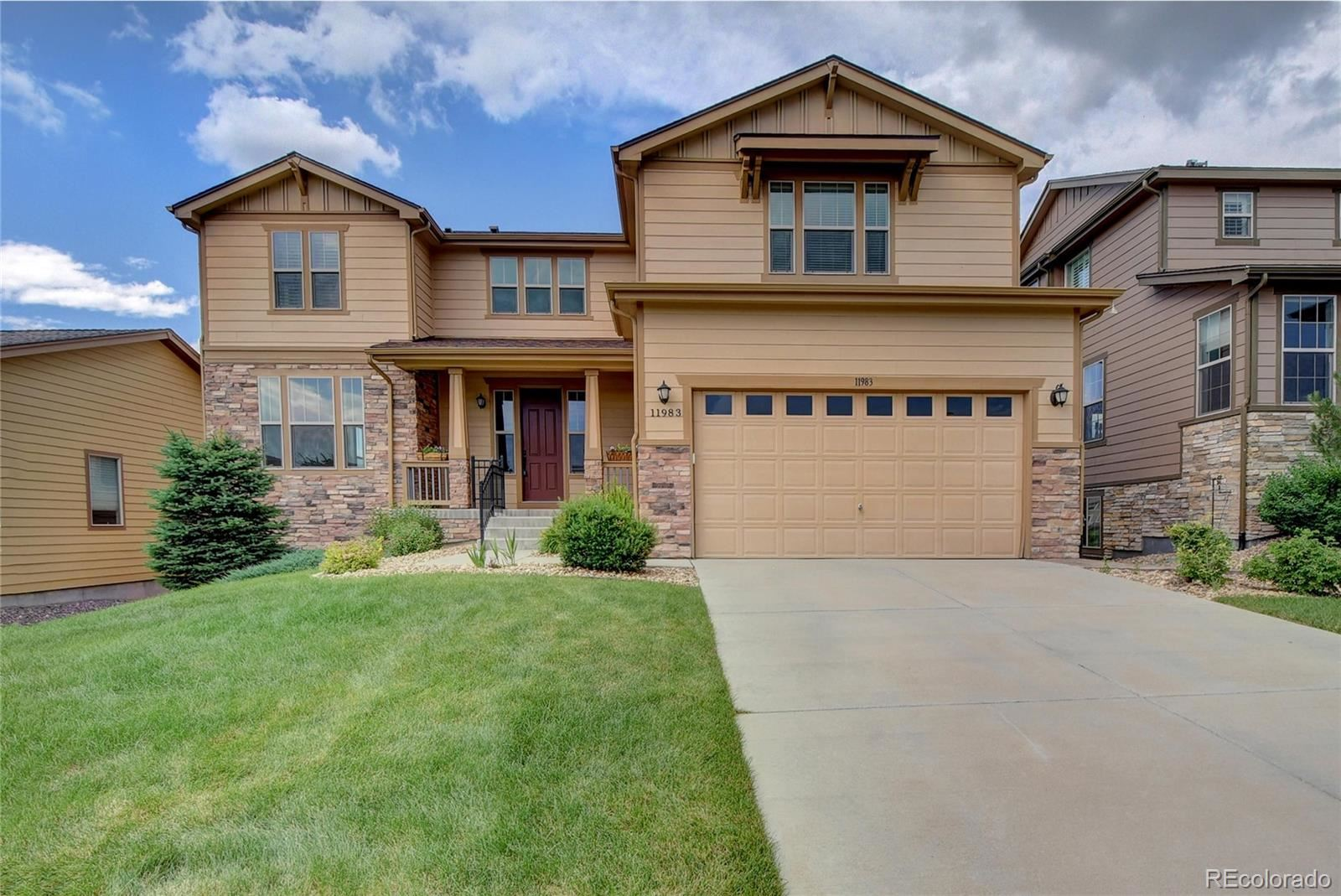 11983 S Allerton Circle, Parker, CO 80138 - #: 7385497