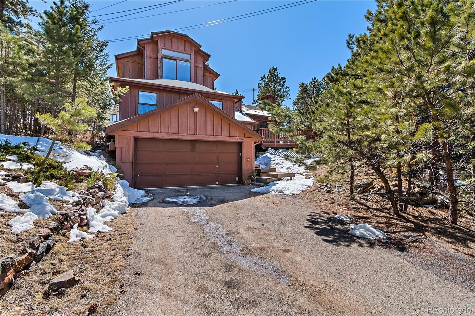 27886  Mariposa Road, Evergreen, CO 80439 - #: 5567502