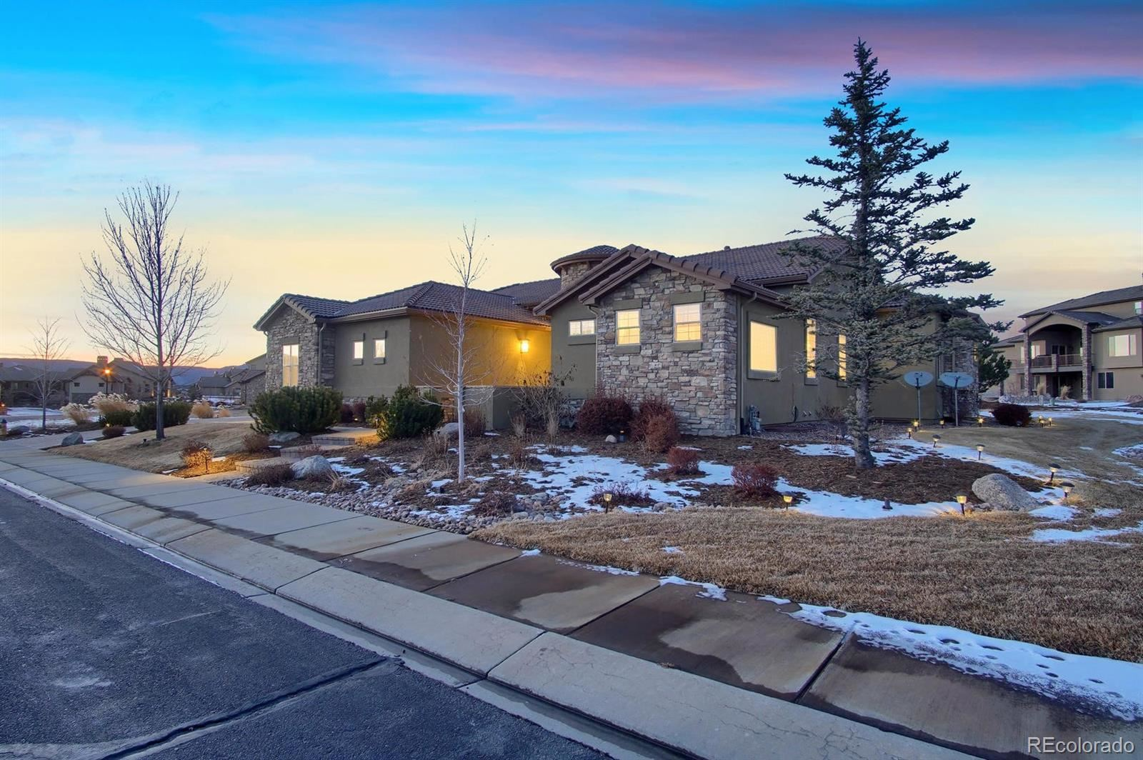 2372  Red Edge Heights, Colorado Springs, CO 80921 - #: 8287502