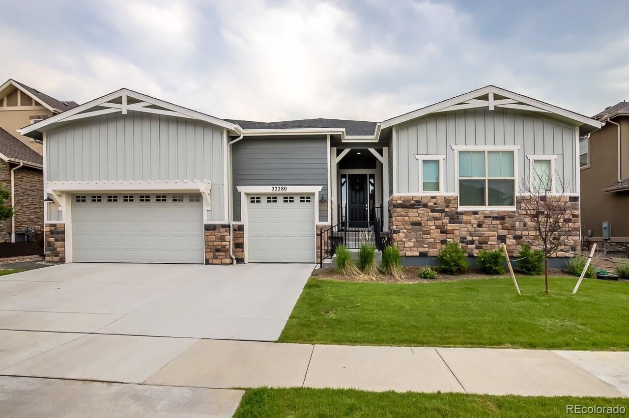 22280 Boundstone Drive, Parker, CO 80138 - #: 4154519