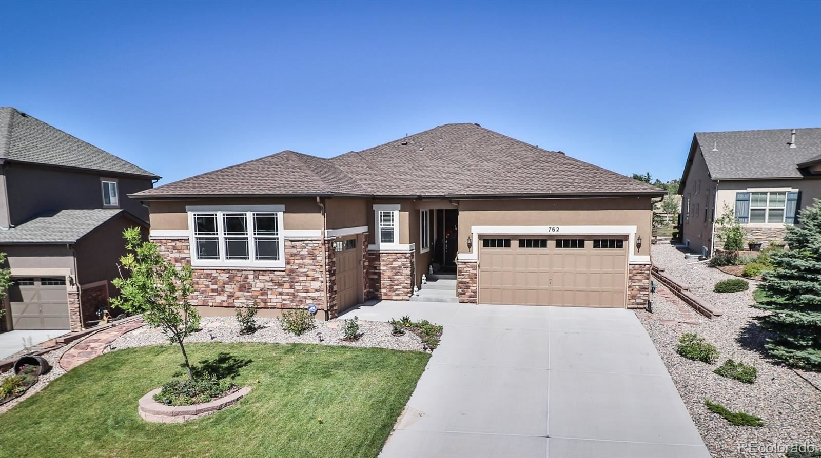 762  Sally Hill Court, Monument, CO 80132 - #: 3099521
