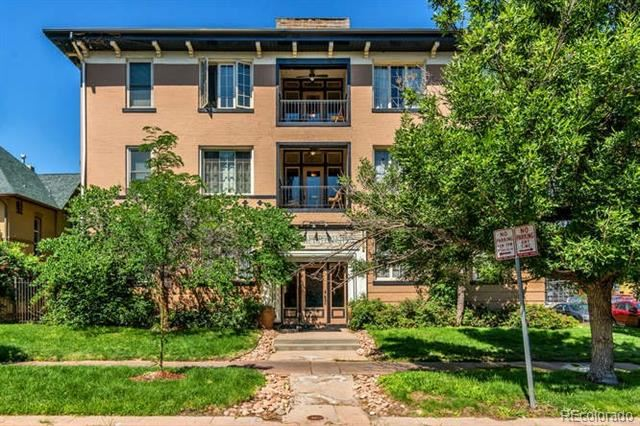 1167 North Logan Street #7 UNIT 7, Denver, CO 80203 - #: 3621537