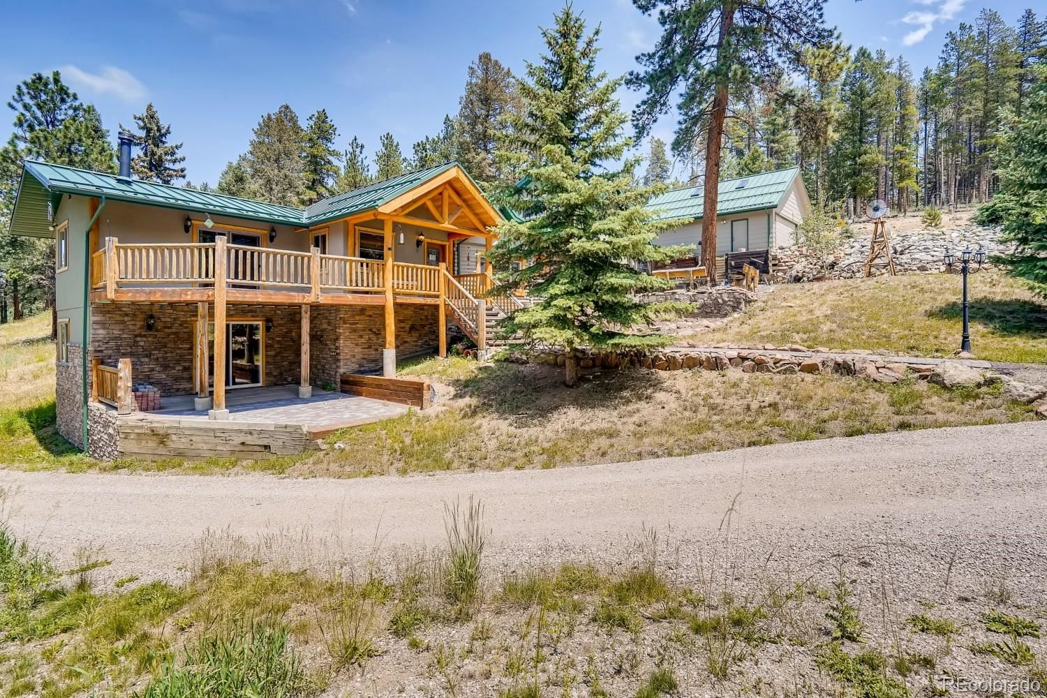 12077 Elk Trail Road, Conifer, CO 80433 - #: 5212547