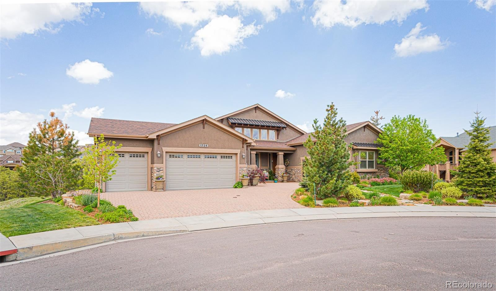 1724 Valley Stream Court, Colorado Springs, CO 80921 - #: 3123554