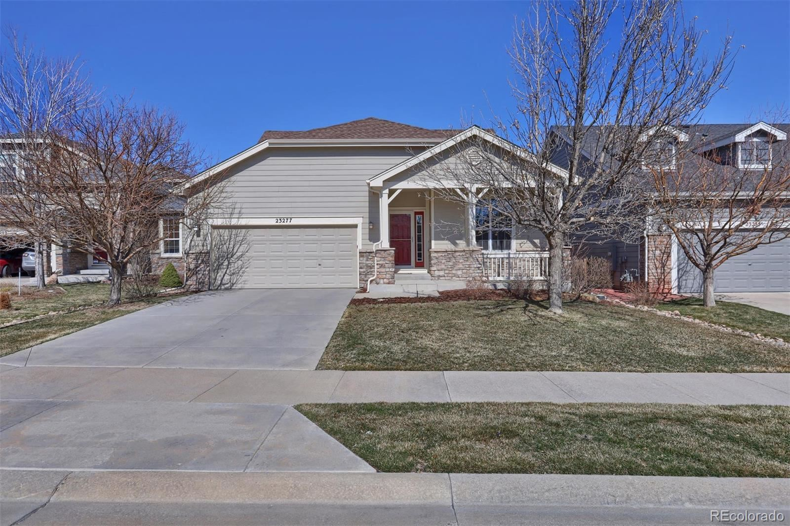 23277  Chapel Hill Lane, Parker, CO 80138 - #: 7733566