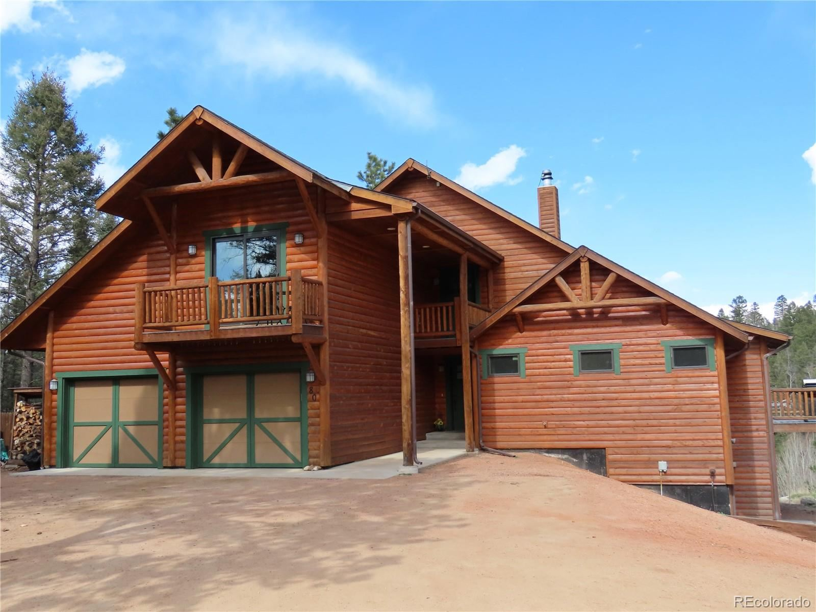 80  Feldspar Road, Florissant, CO 80816 - #: 5215578