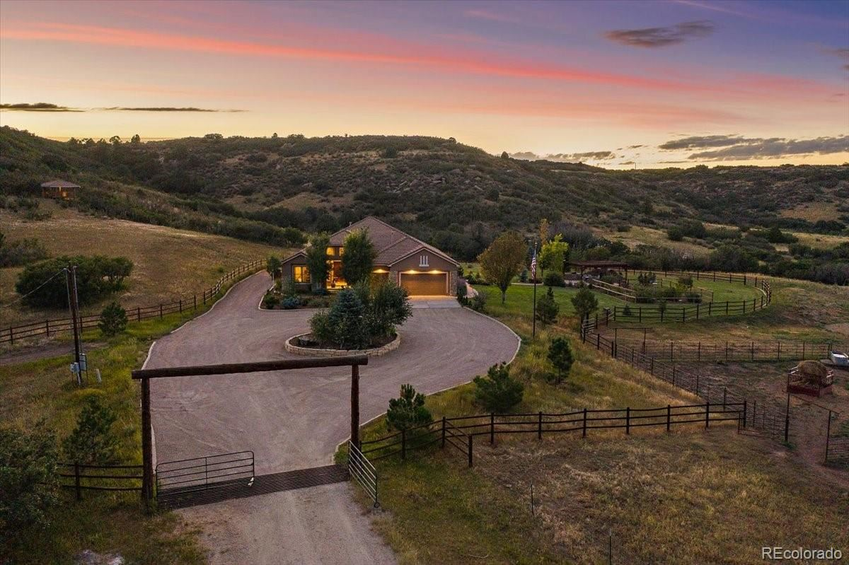 Photo of 5285 E State Highway 86, Franktown, CO 80116 (MLS # 2666593)