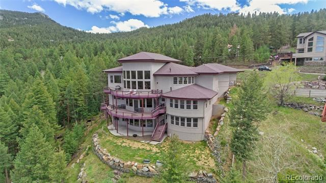 27035 Mountain Park Road, Evergreen, CO 80439 - #: 4365593
