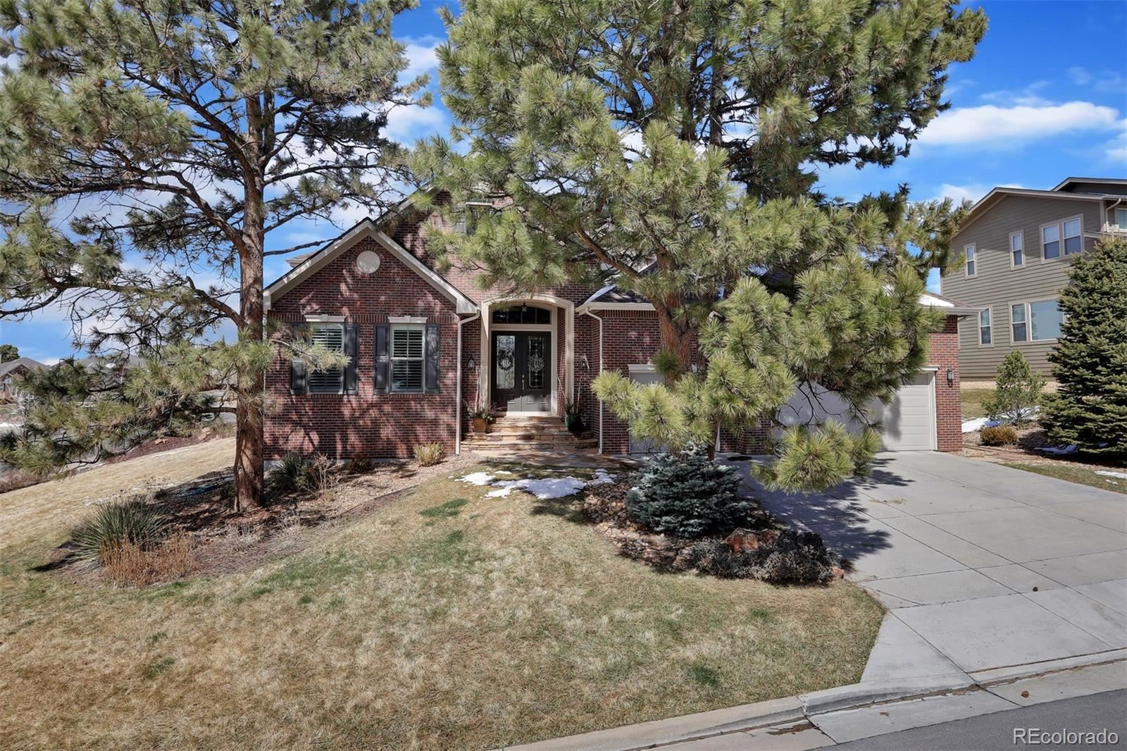 20125 E Shady Ridge Road, Parker, CO 80134 - #: 2632615