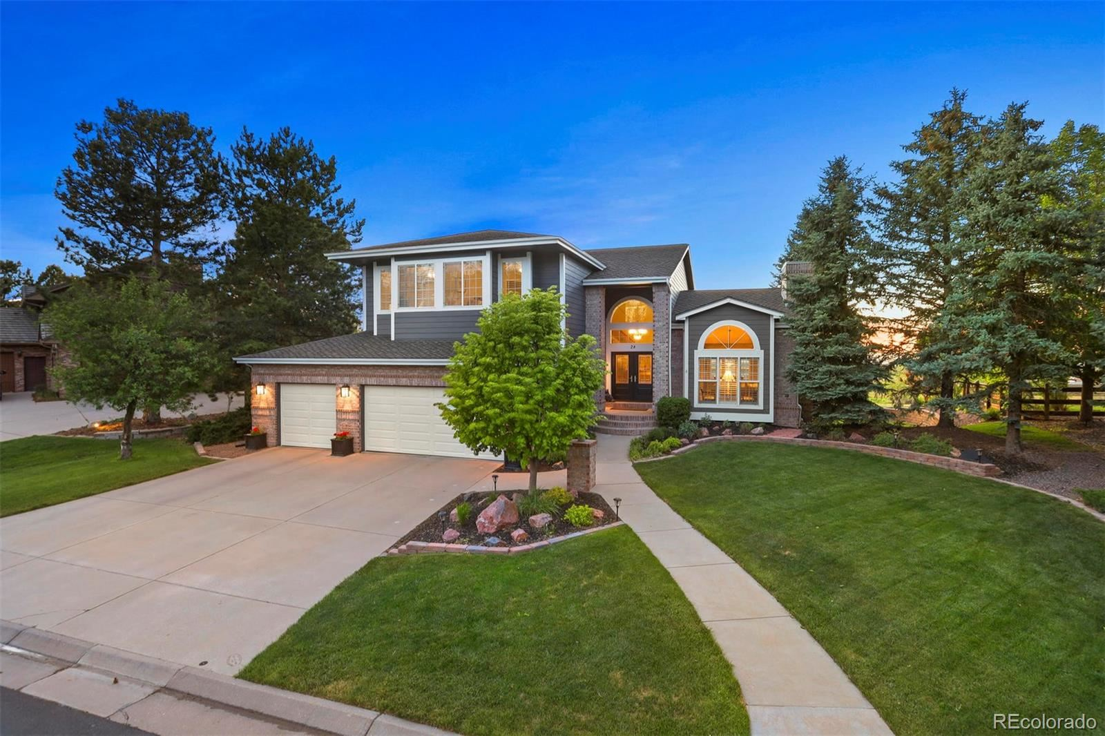 28  Falcon Hills Drive, Highlands Ranch, CO 80126 - #: 6077626