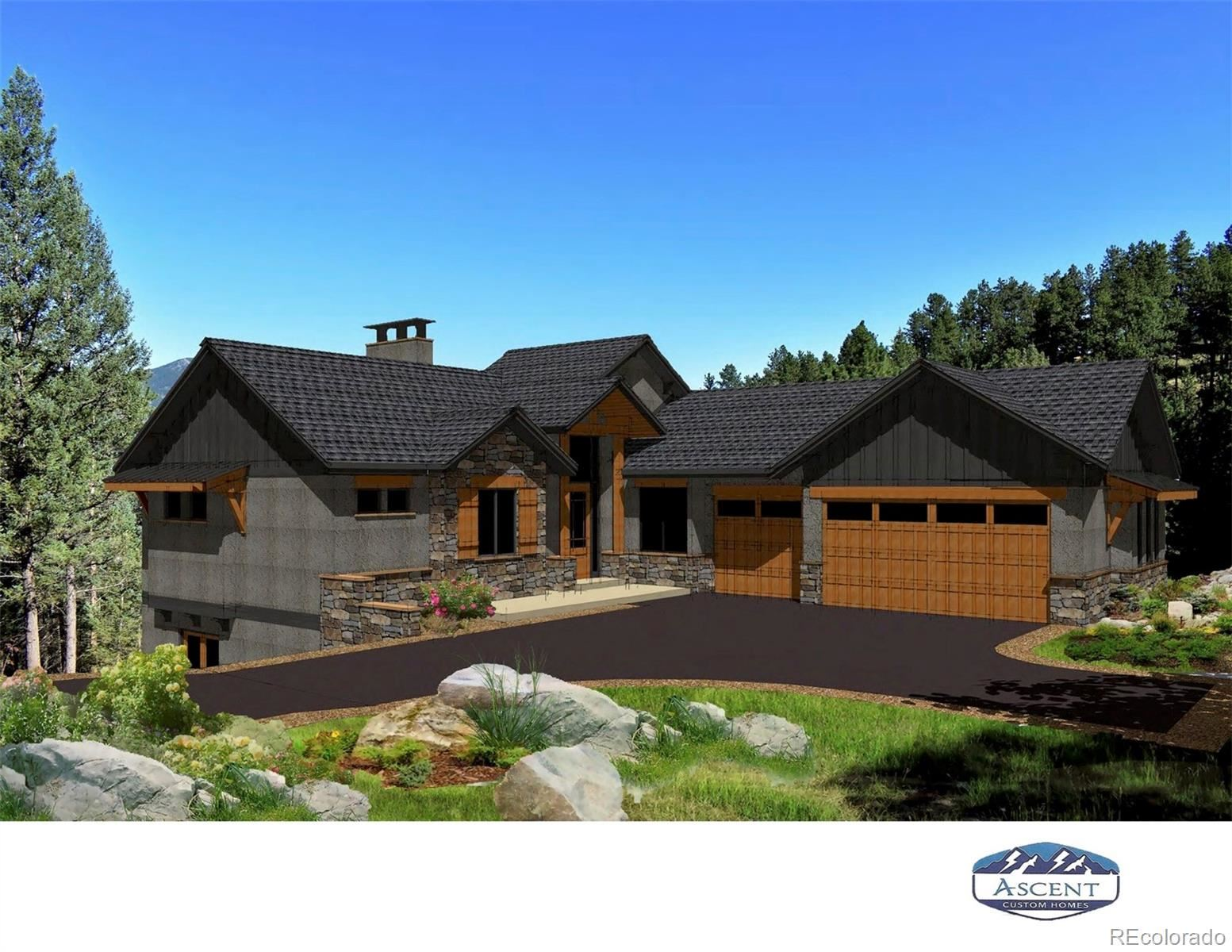 5177 Mountain Vista Lane, Evergreen, CO 80439 - #: 2168630