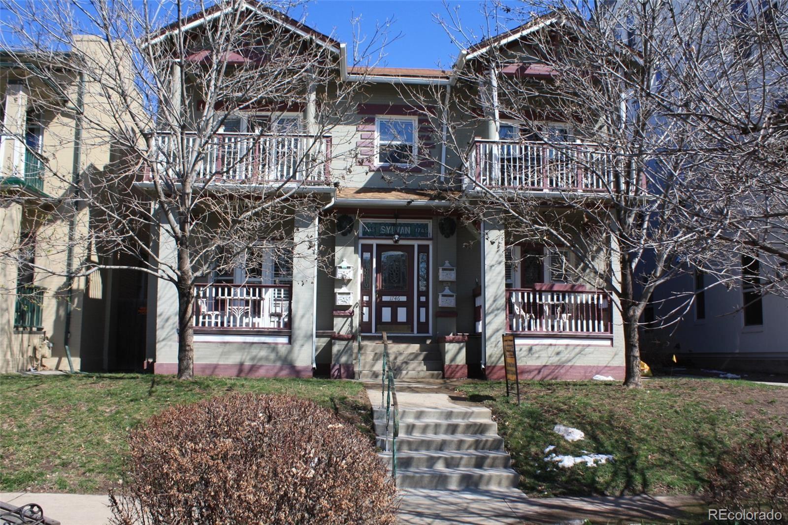 1746 N Franklin Street  1 #1, Denver, CO 80218 - #: 1607637