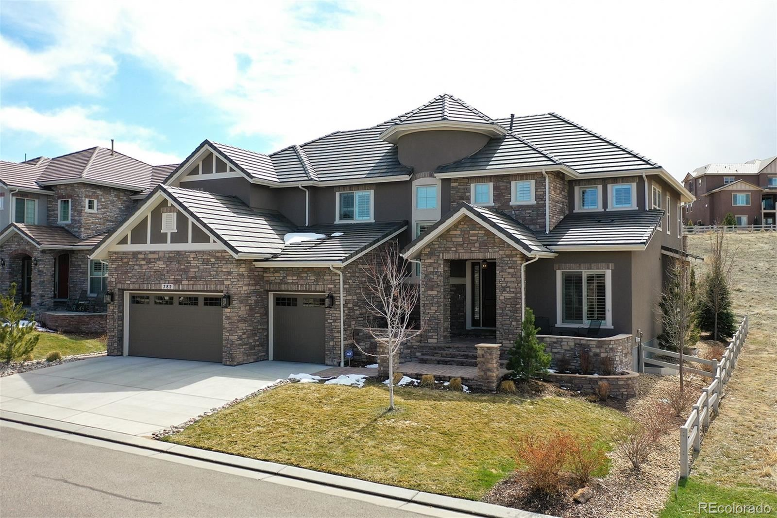 782 Braesheather Place, Highlands Ranch, CO 80126 - #: 3499680