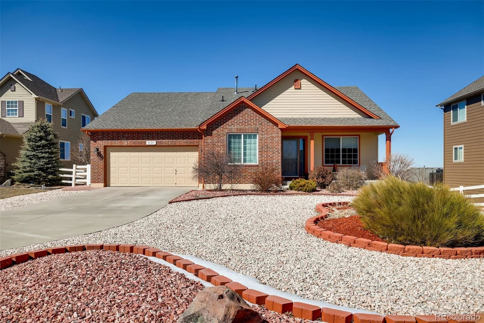 4121  County View Way, Castle Rock, CO 80104 - #: 3321697