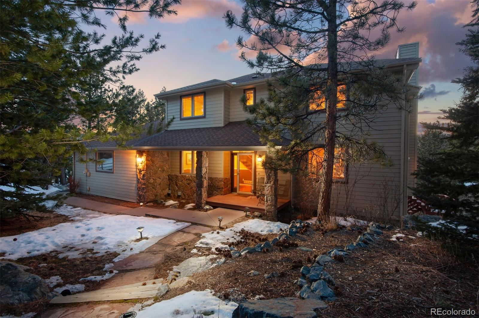 28640  Douglas Park Road, Evergreen, CO 80439 - #: 7448703