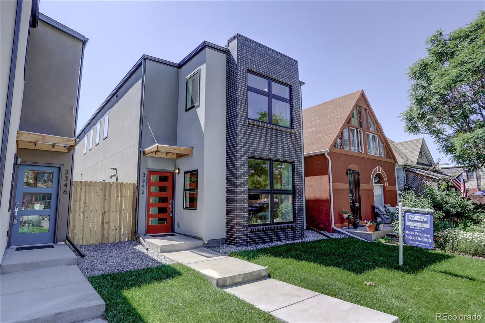 3342 Arapahoe Street, Denver, CO 80205 - #: 8163726