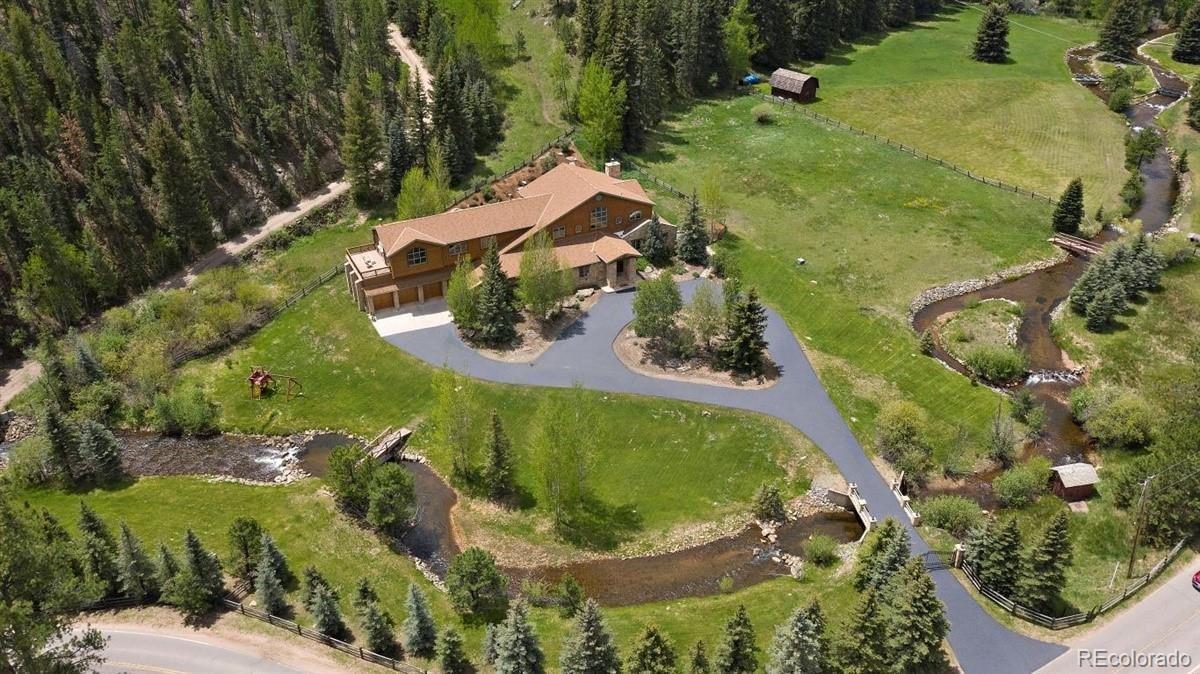 33114 Upper Bear Creek Road, Evergreen, CO 80439 - #: 9245729