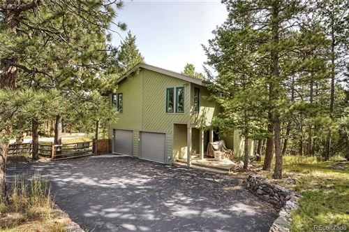 Photo of 4110 Aspen Lane, Evergreen, CO 80439 (MLS # 8373747)