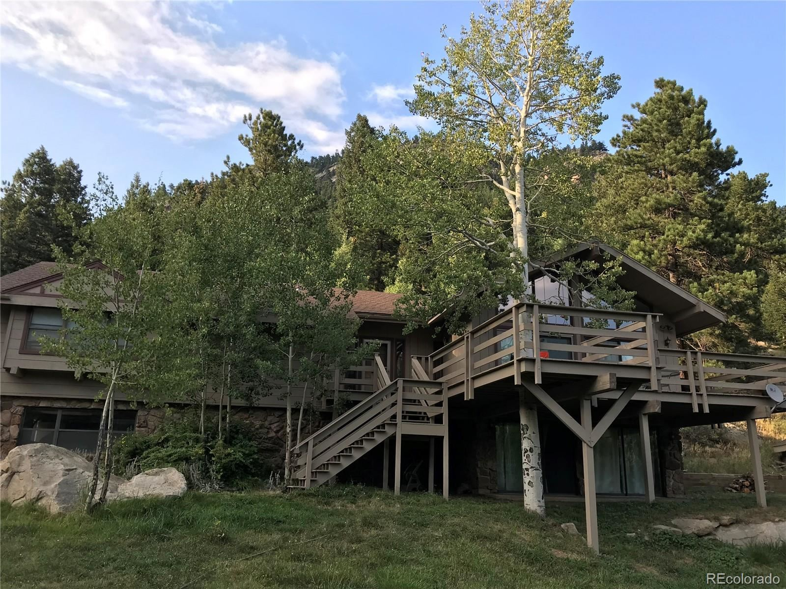 2750  Witter Gulch Road, Evergreen, CO 80439 - #: 5750750