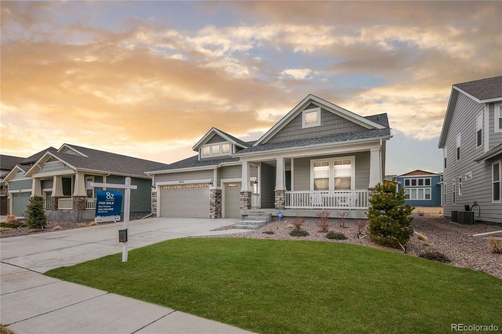 8793  Dunraven Street, Arvada, CO 80007 - #: 5713763