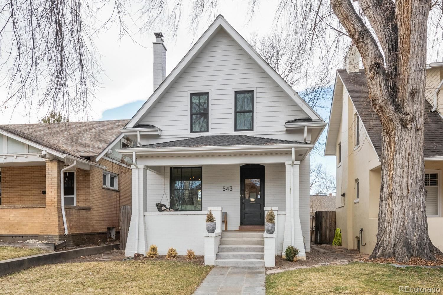 543 N Humboldt Street, Denver, CO 80218 - #: 3494766