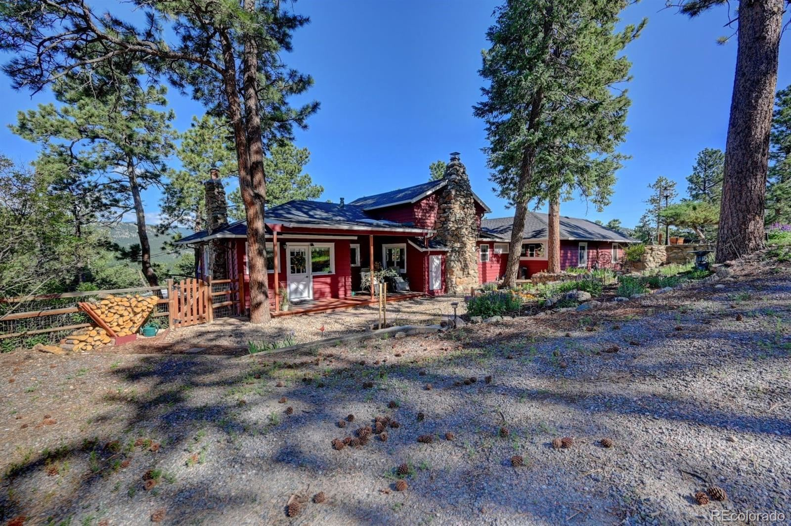 28176 Mariposa Road, Evergreen, CO 80439 - #: 7527770