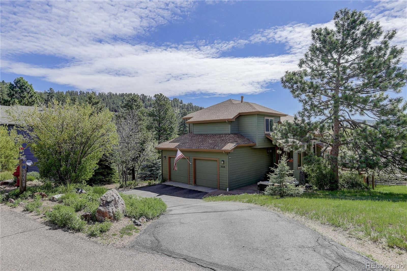 3228 Sun Ridge Lane, Evergreen, CO 80439 - #: 7104780