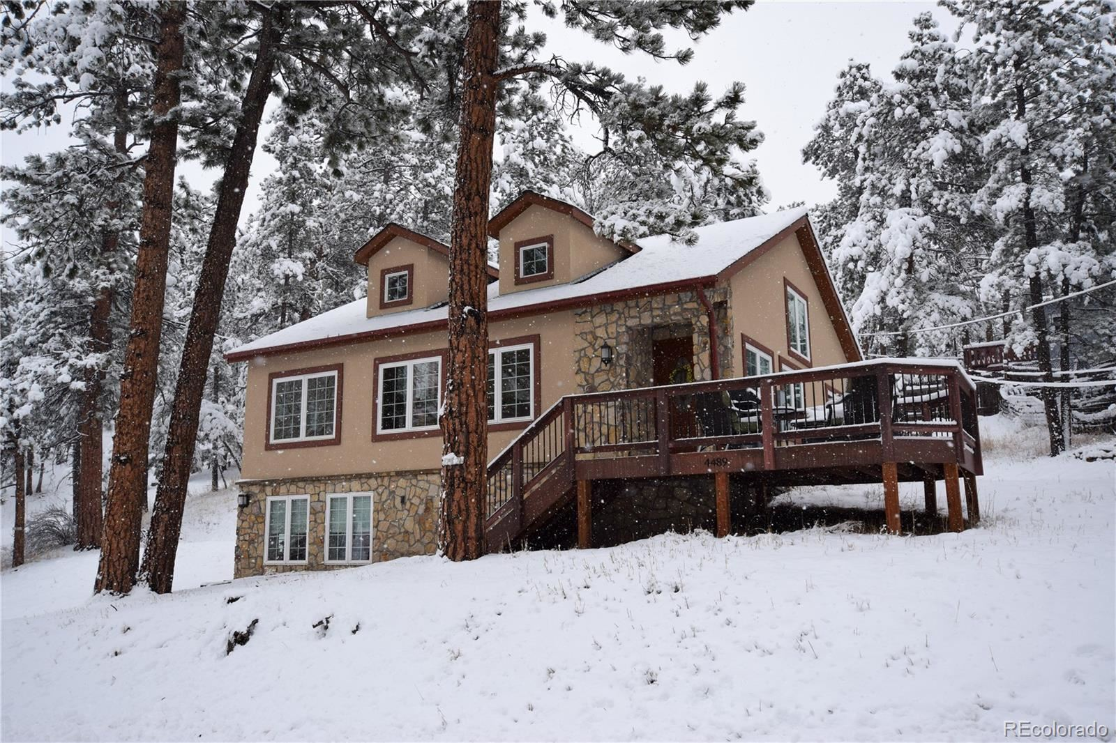 4489  Blue Spruce Road, Evergreen, CO 80439 - #: 7330788