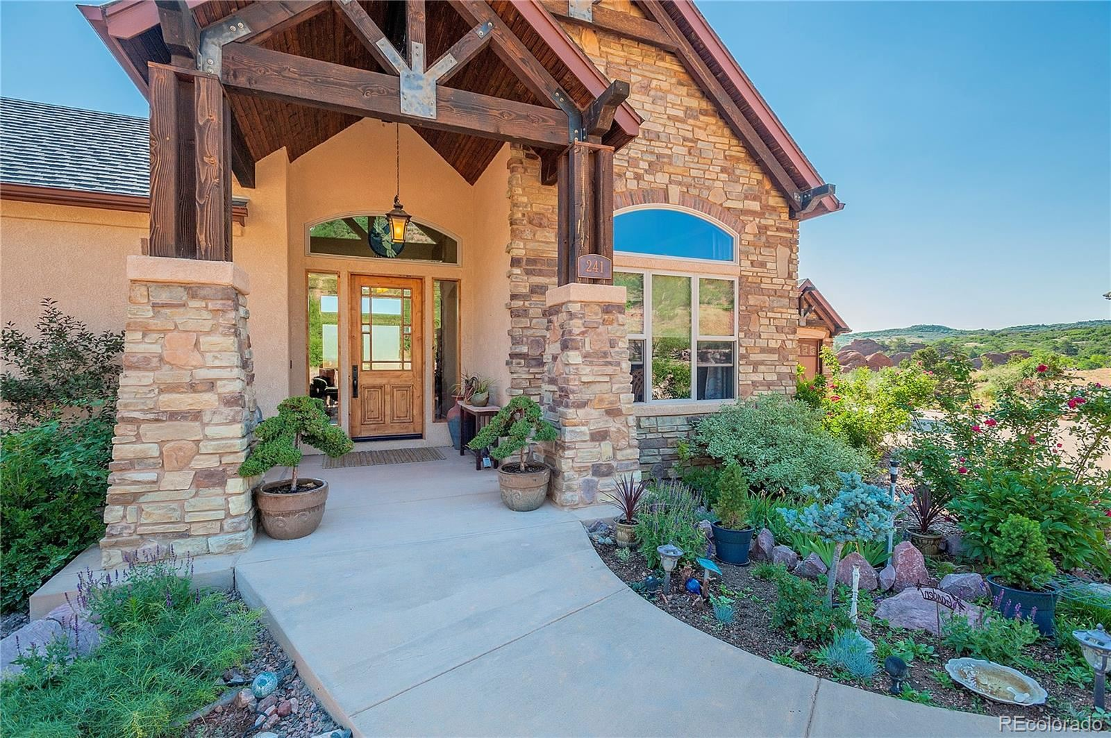 241  Crystal Valley Road, Manitou Springs, CO 80829 - #: 6257789