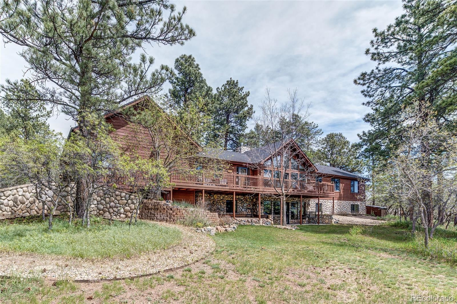 4057 Red Rock Drive, Larkspur, CO 80118 - #: 8777798