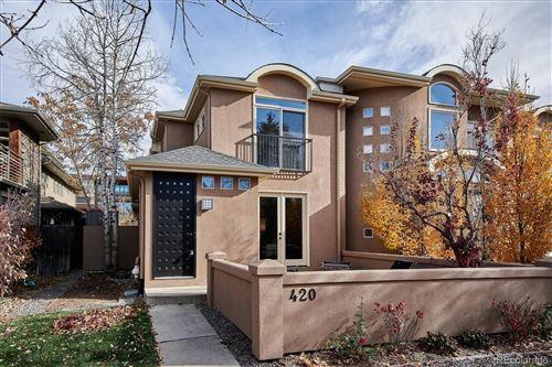 Photo of 420 Detroit Street, Denver, CO 80206 (MLS # 7665804)