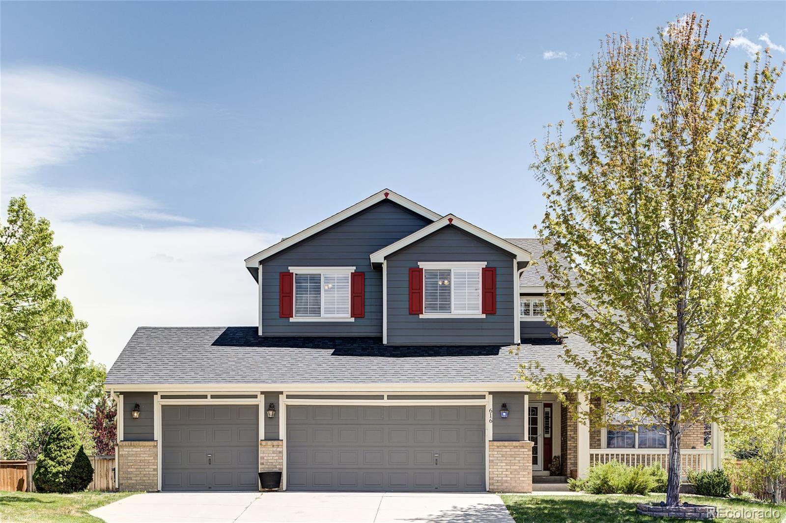 616 Blue Heron Way, Highlands Ranch, CO 80129 - #: 7919807