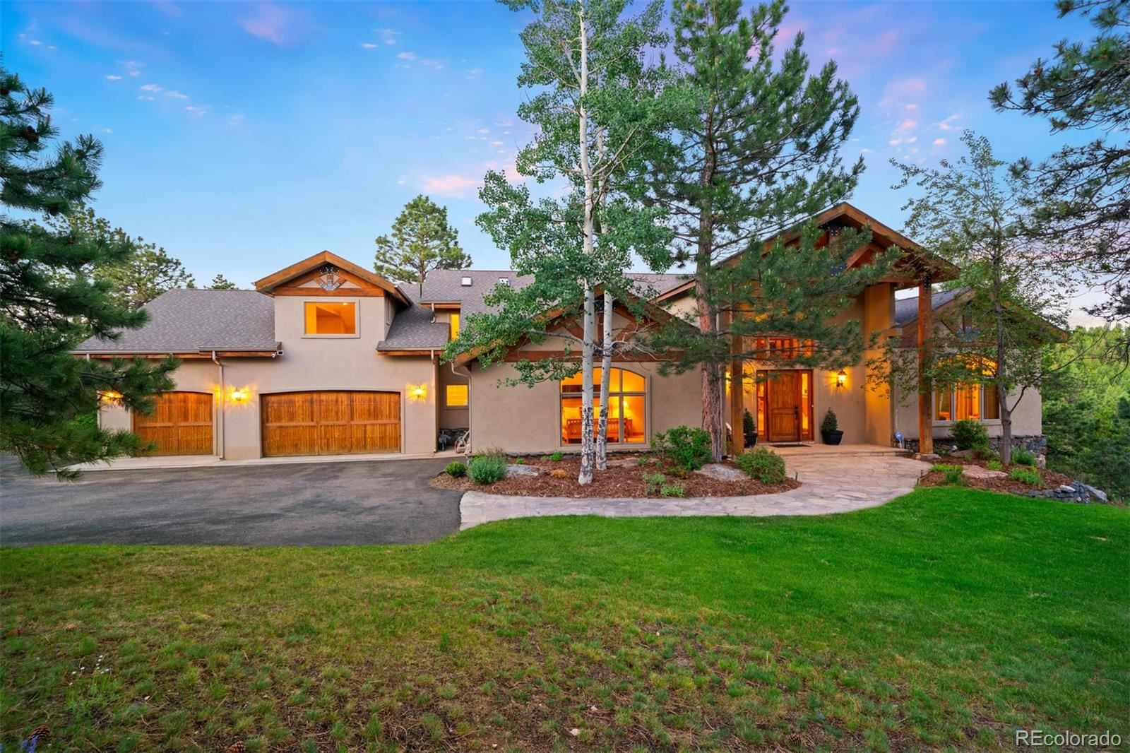 33231  Meadow Mountain Road, Evergreen, CO 80439 - #: 8844818