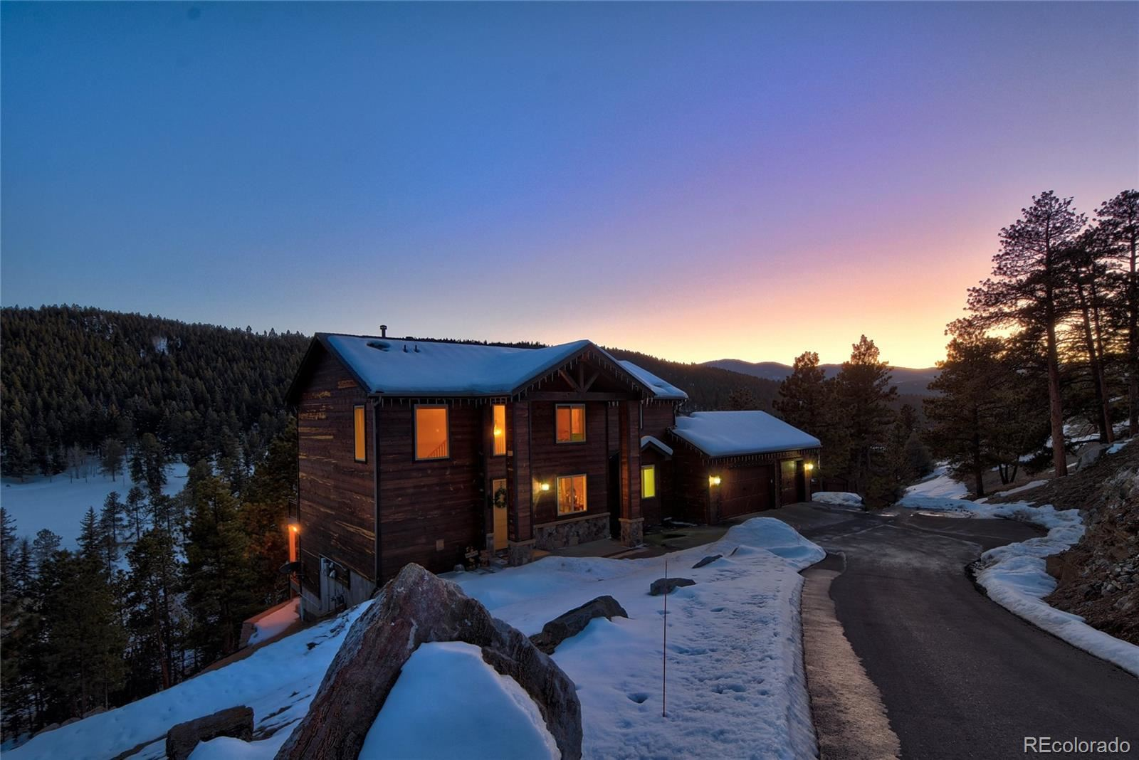 7374  Heiter Hill Drive, Evergreen, CO 80439 - #: 7490823