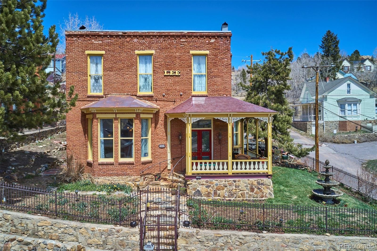 201 W 1st High Street, Central City, CO 80427 - #: 7671824