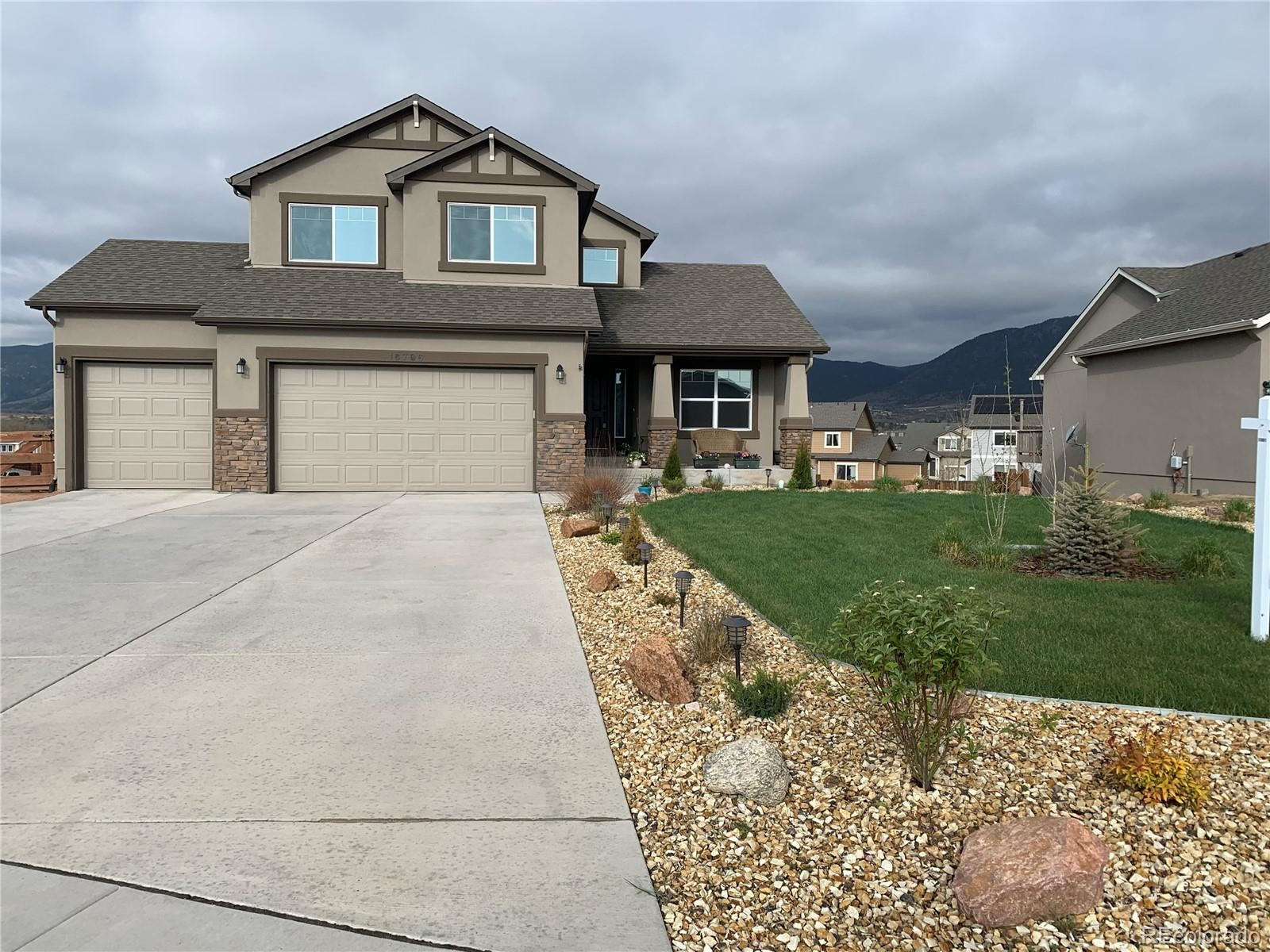 16796  Buffalo Valley Path, Monument, CO 80132 - #: 7768875