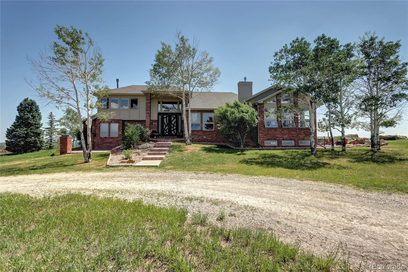 Photo of 1820 S State Highway 83, Franktown, CO 80116 (MLS # 7725906)