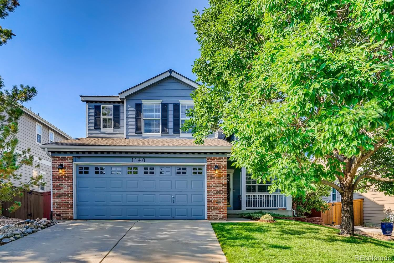 1140 Thornbury Place, Highlands Ranch, CO 80129 - #: 2264908