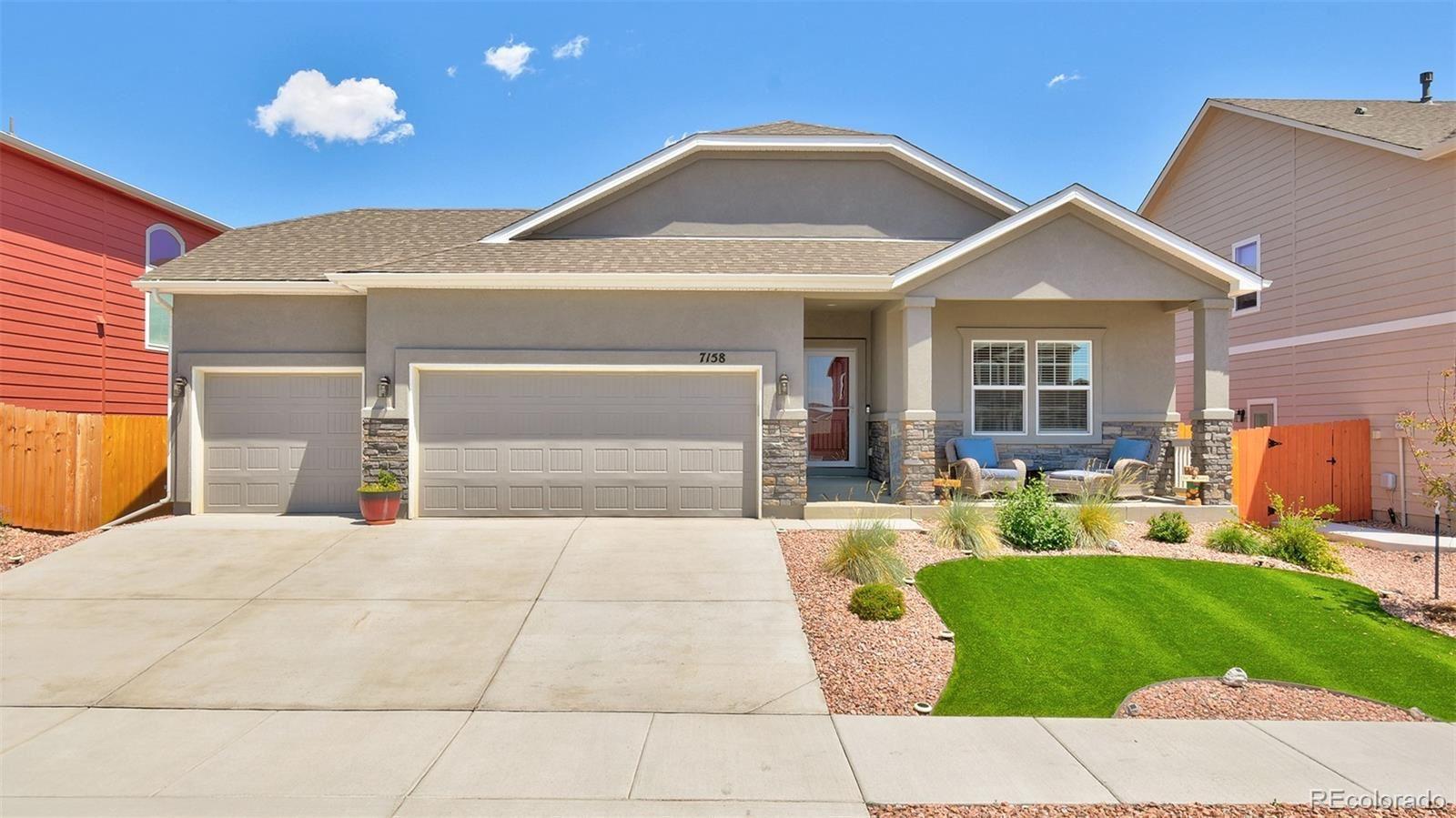 7158 New Meadow Drive, Colorado Springs, CO 80923 - #: 9640917