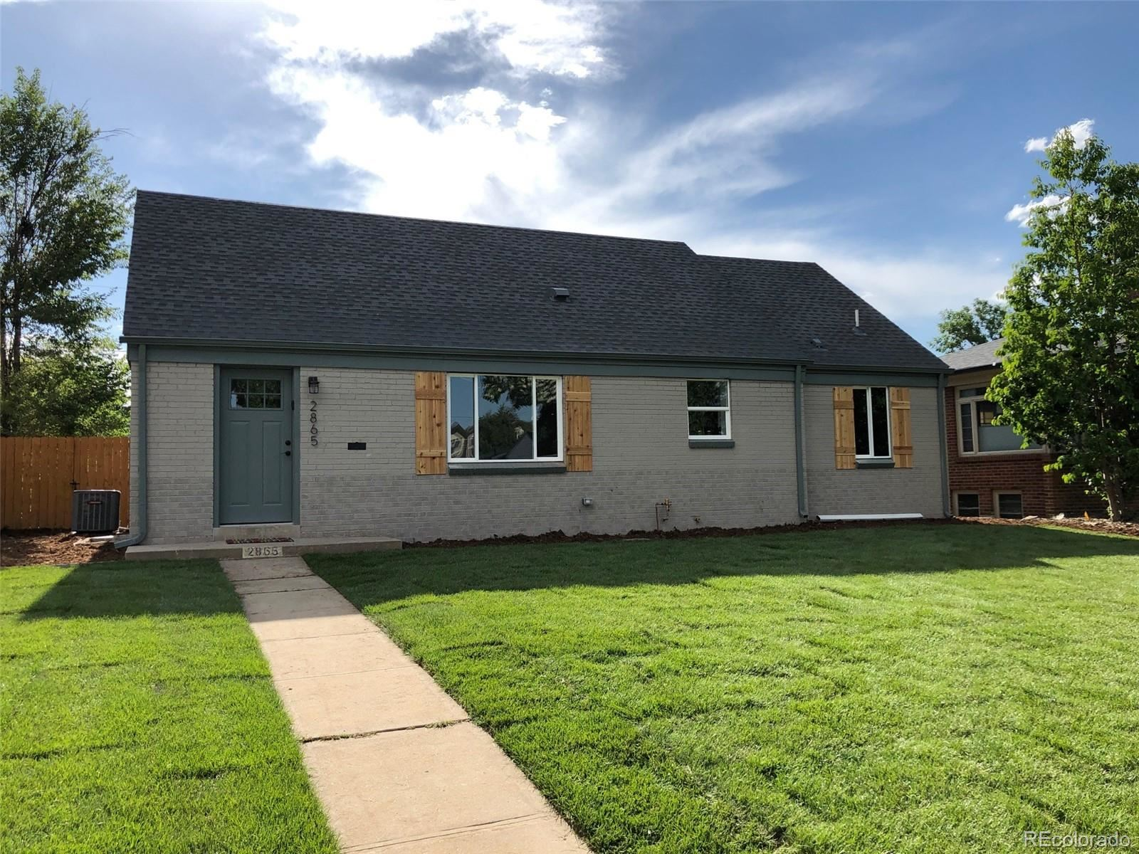 2865 Elm Street, Denver, CO 80207 - #: 8669929
