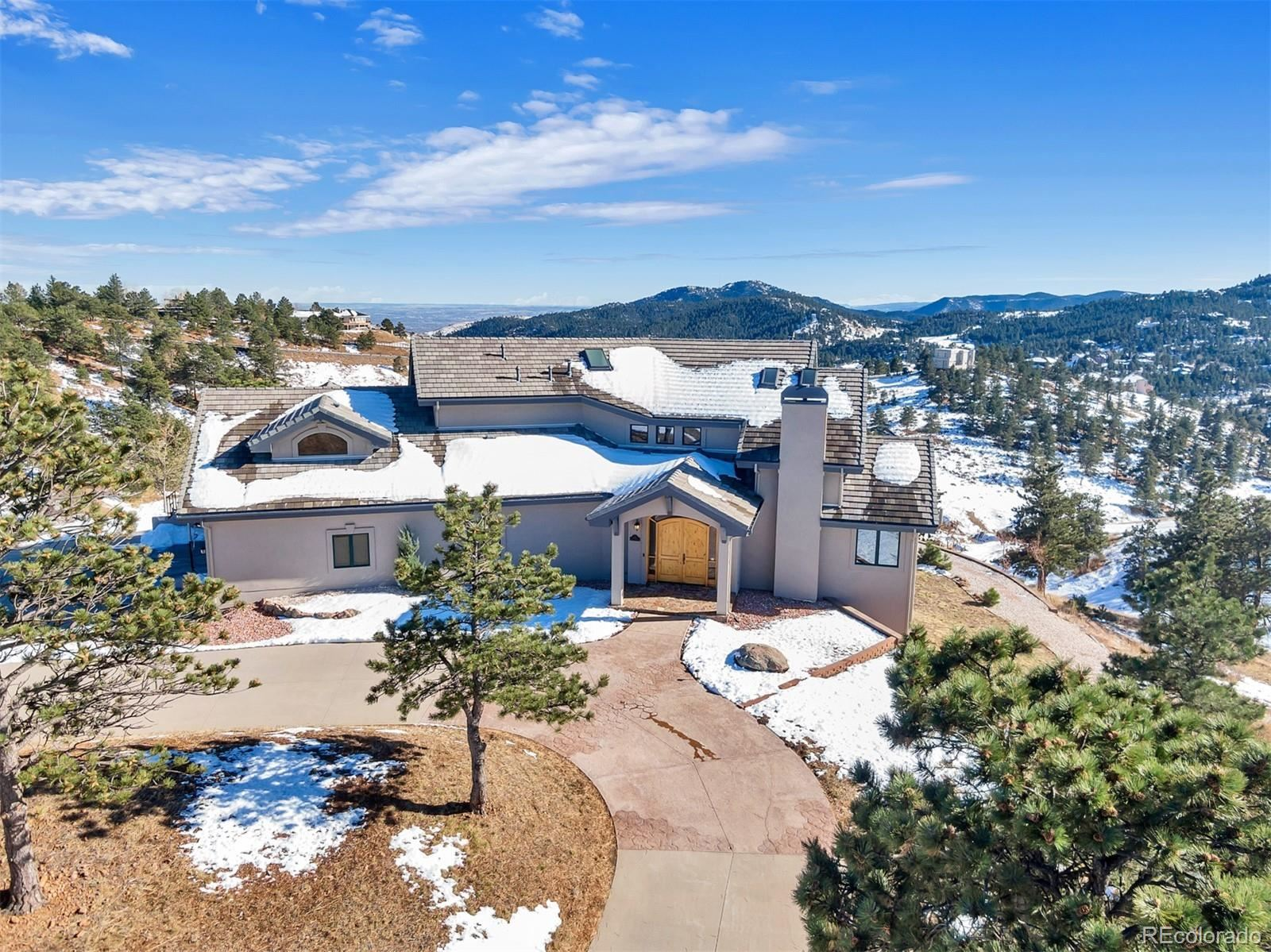 156 S Lookout Mountain Road, Golden, CO 80401 - #: 8839936