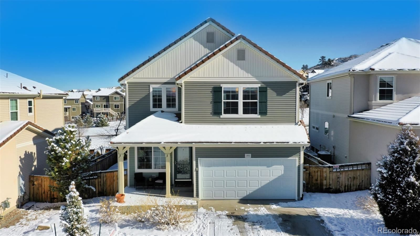 1902  Candleglow Street, Castle Rock, CO 80109 - #: 7689969