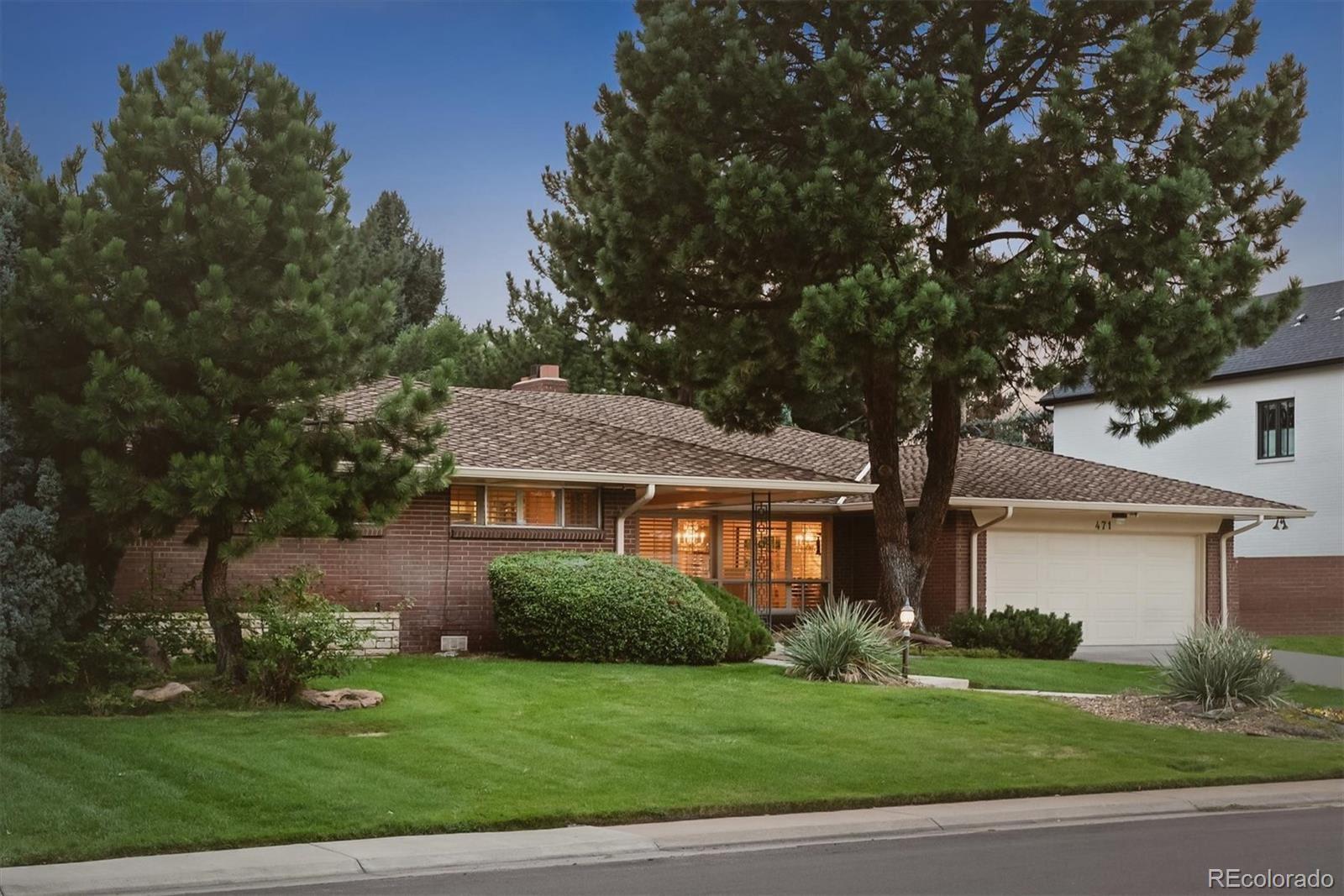 Photo of 471 Leyden Street, Denver, CO 80220 (MLS # 7707980)
