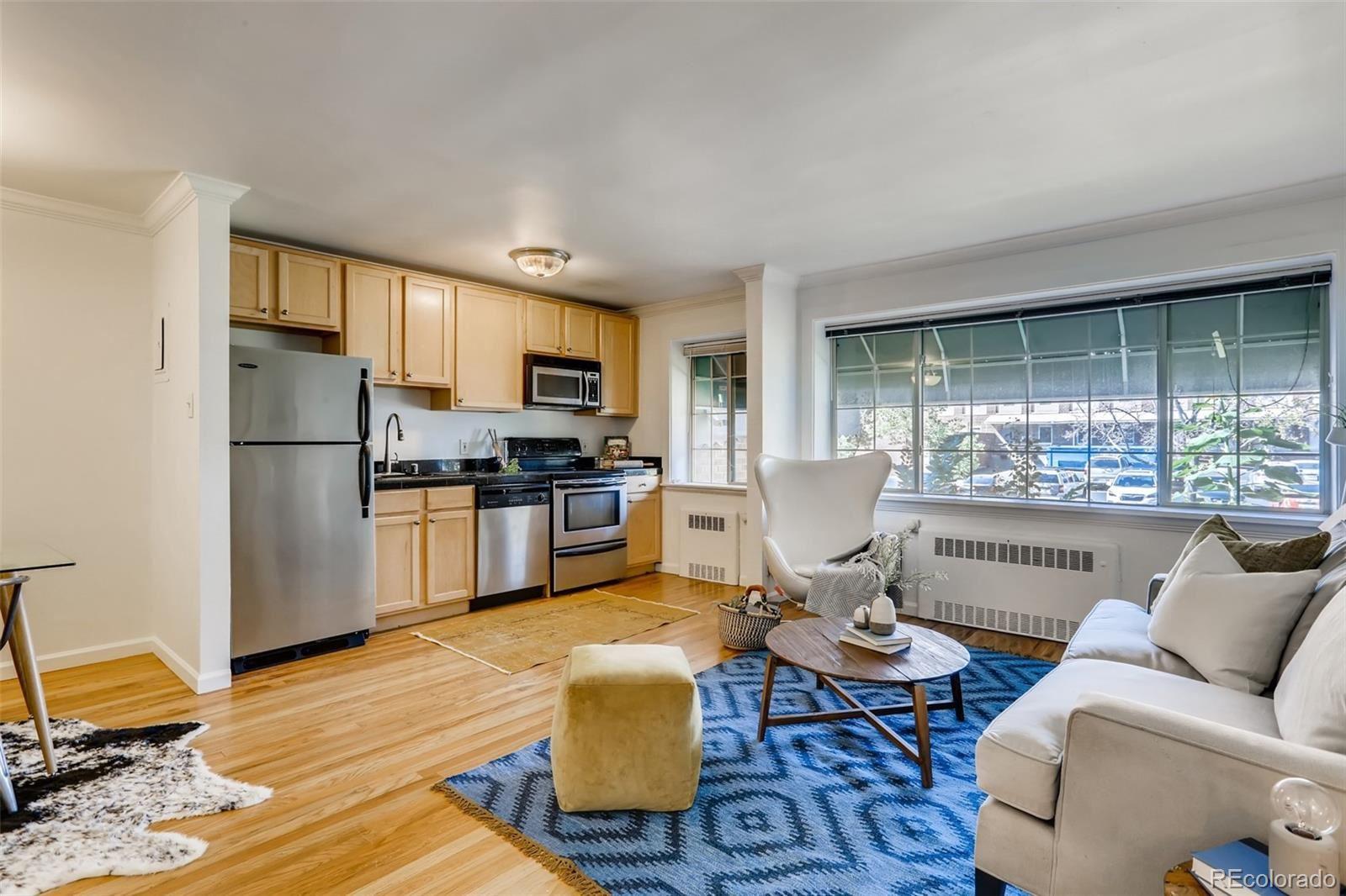 Photo of 1450 Albion Street #104, Denver, CO 80220 (MLS # 6907989)